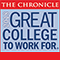 The Chronical Great Colleges to Work For 2018 logo